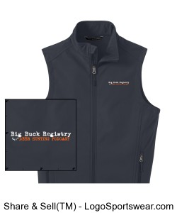 Mens Core Soft Shell Vest Design Zoom